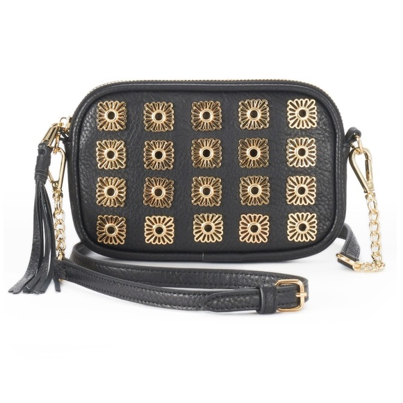 f238b5f7fc5e Juicy Couture medallion stud crossbody bag NWT